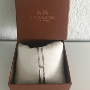 Coach silver bracelet